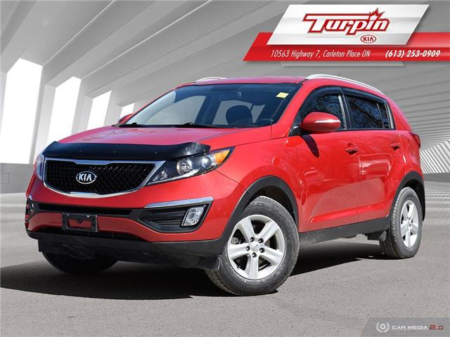 2015 Kia Sportage LX (Stk: 19DT152A) in Carleton Place - Image 1 of 26