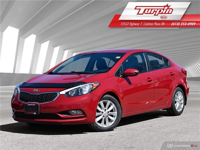2015 Kia Forte LX+ Winter Edition (Stk: TK335) in Carleton Place - Image 1 of 25