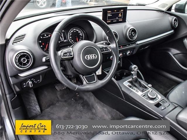 2015 Audi A3 1.8T Komfort (Stk: 010140) in Ottawa - Image 12 of 30