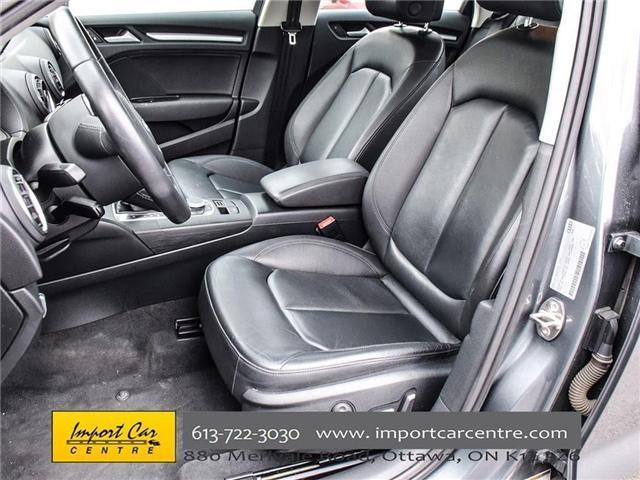 2015 Audi A3 1.8T Komfort (Stk: 010140) in Ottawa - Image 13 of 30