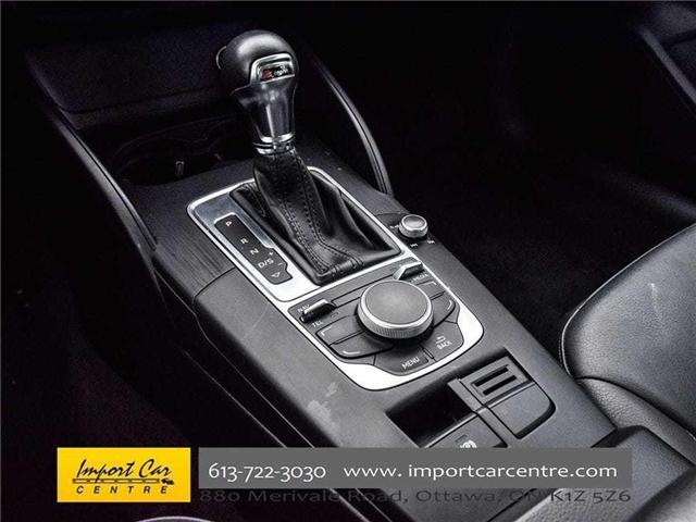 2015 Audi A3 1.8T Komfort (Stk: 010140) in Ottawa - Image 16 of 30