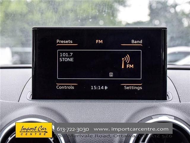 2015 Audi A3 1.8T Komfort (Stk: 010140) in Ottawa - Image 20 of 30
