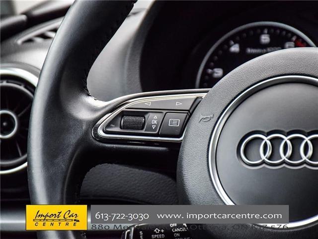2015 Audi A3 1.8T Komfort (Stk: 010140) in Ottawa - Image 30 of 30