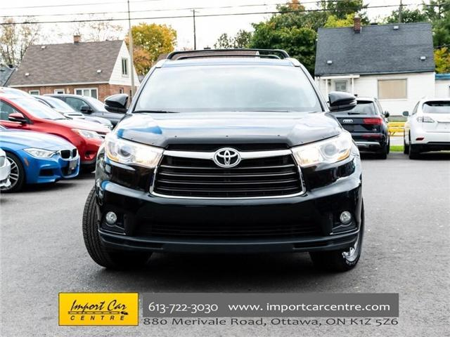 2016 Toyota Highlander XLE (Stk: 252577) in Ottawa - Image 2 of 30