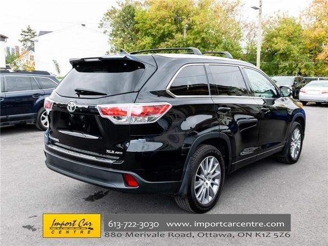 2016 Toyota Highlander XLE (Stk: 252577) in Ottawa - Image 9 of 30