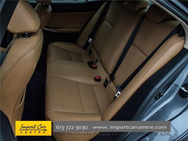2014 Lexus IS 250 Base (Stk: 014272) in Ottawa - Image 11 of 22
