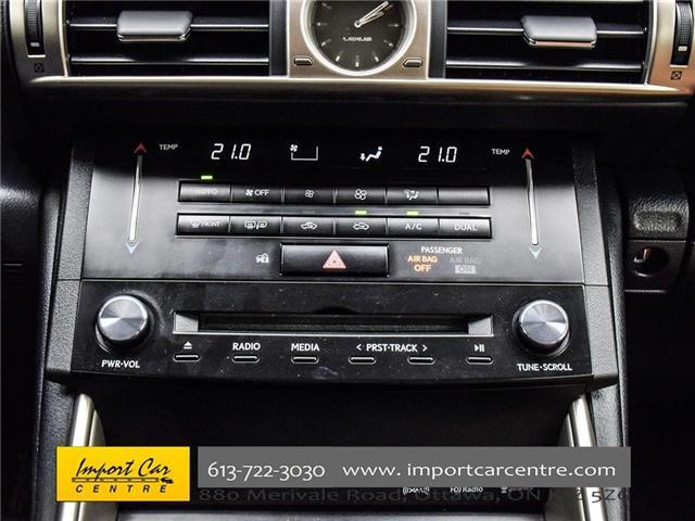2014 Lexus IS 250 Base (Stk: 014272) in Ottawa - Image 14 of 22