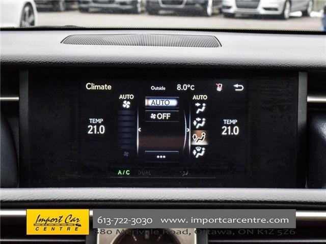 2014 Lexus IS 250 Base (Stk: 014272) in Ottawa - Image 17 of 22