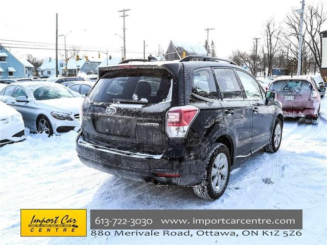 2017 Subaru Forester 2.5i Convenience (Stk: 415300) in Ottawa - Image 7 of 30