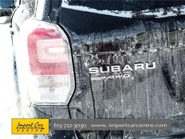 2017 Subaru Forester 2.5i Convenience (Stk: 415300) in Ottawa - Image 9 of 30
