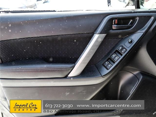 2017 Subaru Forester 2.5i Convenience (Stk: 415300) in Ottawa - Image 16 of 30