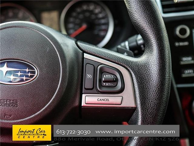 2017 Subaru Forester 2.5i Convenience (Stk: 415300) in Ottawa - Image 29 of 30