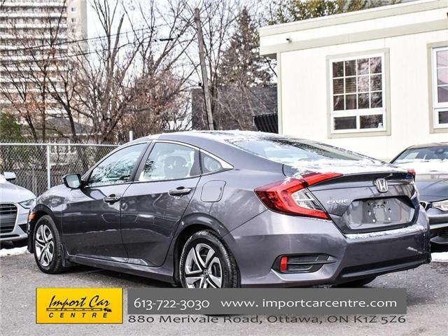 2016 Honda Civic LX (Stk: 026300) in Ottawa - Image 5 of 30