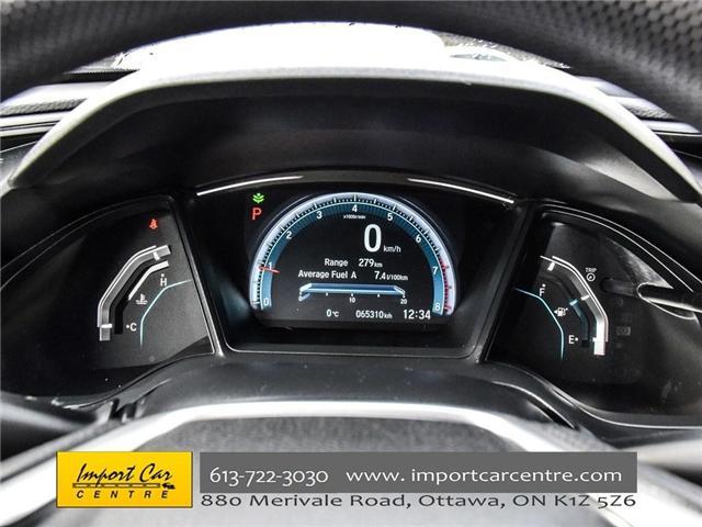 2016 Honda Civic LX (Stk: 026300) in Ottawa - Image 16 of 30
