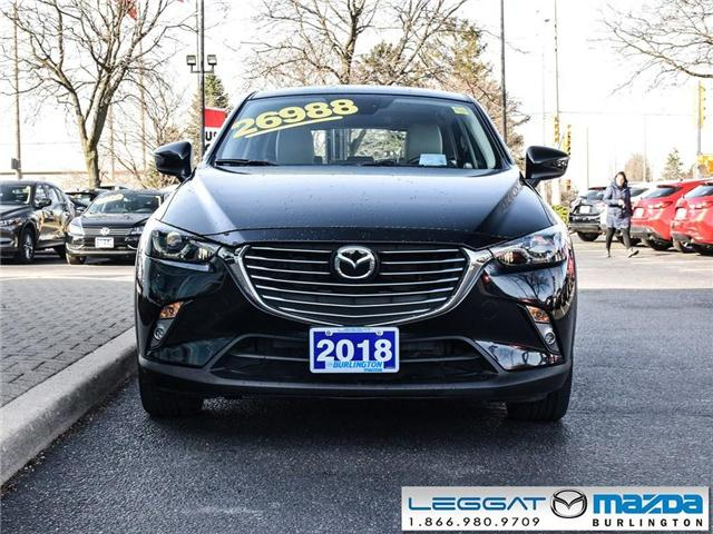 2018 Mazda CX-3 GT- LEATHER, BOSE, ALL WHEEL DRIVE, GPS (Stk: 1825) in Burlington - Image 2 of 24