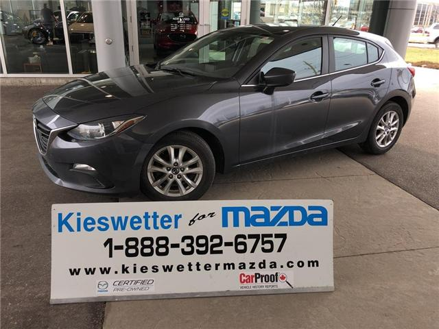 2016 Mazda Mazda3 GS (Stk: U3773) in Kitchener - Image 1 of 27