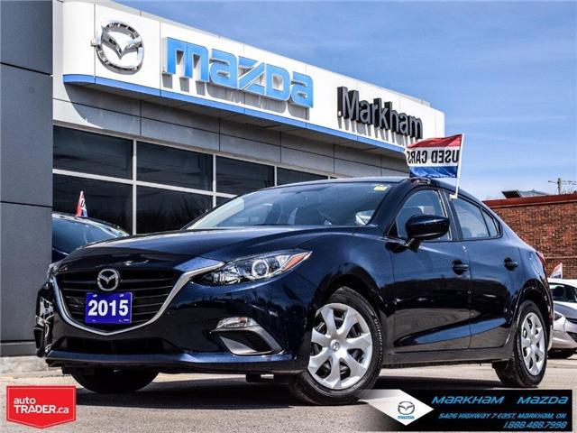2015 Mazda Mazda3 GX (Stk: L190382A) in Markham - Image 1 of 24