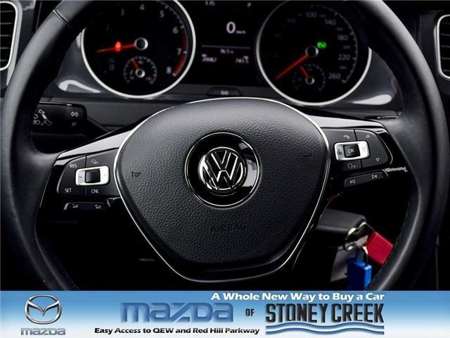 2018 Volkswagen Golf SportWagen Trendline (Stk: SR985) in Hamilton - Image 16 of 19