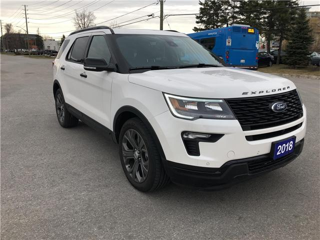 2018 Ford Explorer Sport (Stk: P8520) in Unionville - Image 1 of 31