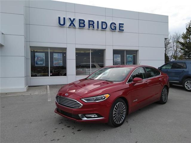 2018 Ford Fusion Hybrid  (Stk: P1269) in Uxbridge - Image 1 of 14
