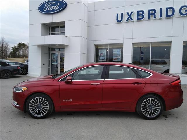 2018 Ford Fusion Hybrid  (Stk: P1269) in Uxbridge - Image 2 of 14