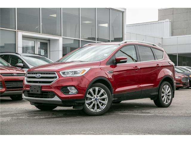 2017 Ford Escape Titanium LEATHER-NAV-POWER ROOF-AWD-WARRANTY (Stk: 1912041) in Ottawa - Image 1 of 27