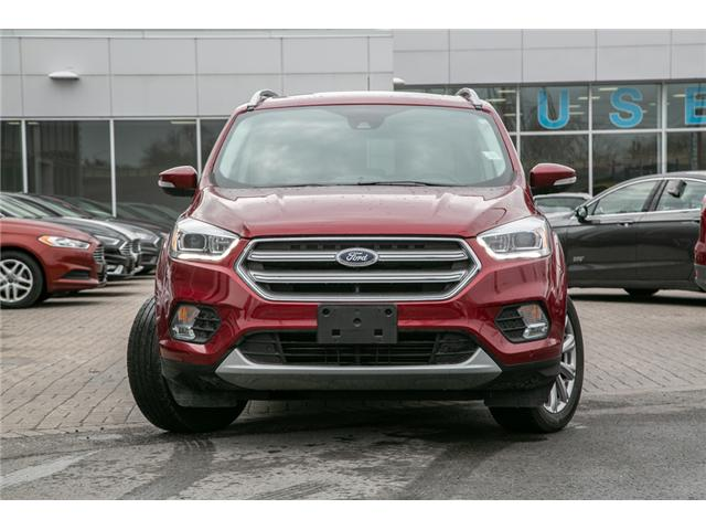2017 Ford Escape Titanium LEATHER-NAV-POWER ROOF-AWD-WARRANTY (Stk: 1912041) in Ottawa - Image 2 of 27