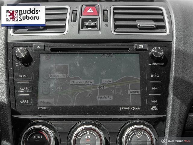 2016 Subaru WRX Sport-tech Package (Stk: W19030A) in Oakville - Image 21 of 26