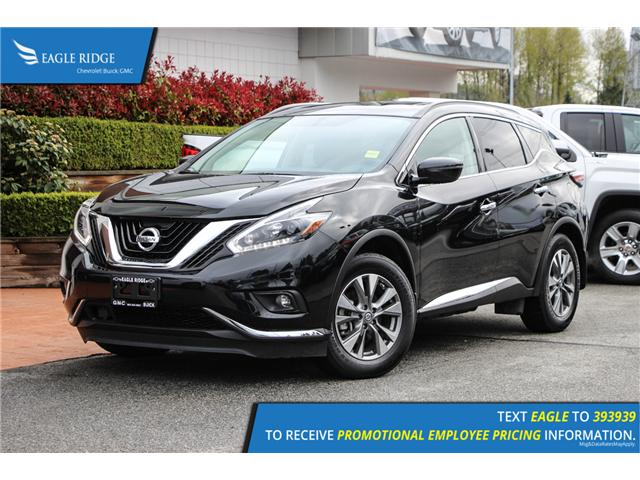 2018 Nissan Murano SV (Stk: 189295) in Coquitlam - Image 1 of 18