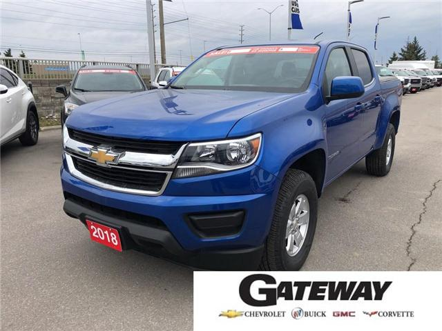 2018 Chevrolet Colorado 4WD Work Truck (Stk: 127030A) in BRAMPTON - Image 1 of 16