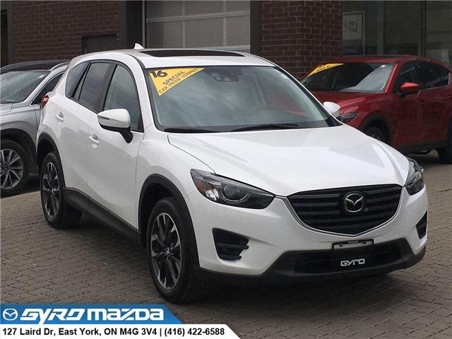 2016 Mazda CX-5 GT (Stk: 28685A) in East York - Image 1 of 30