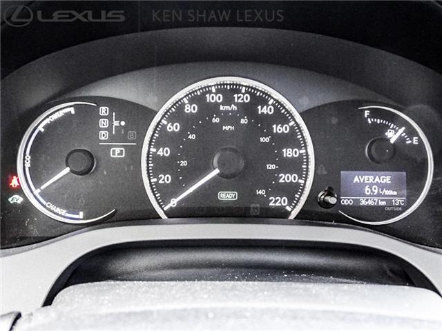 2016 Lexus CT 200h Base (Stk: 16014A) in Toronto - Image 17 of 18