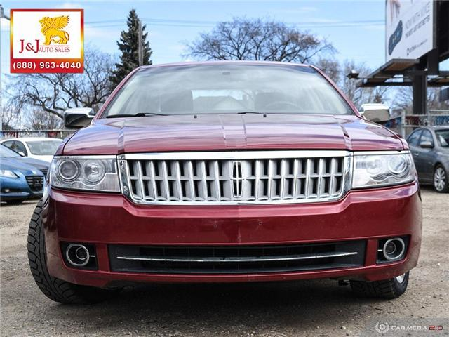 2008 Lincoln MKZ Base (Stk: J19021-1) in Brandon - Image 2 of 27