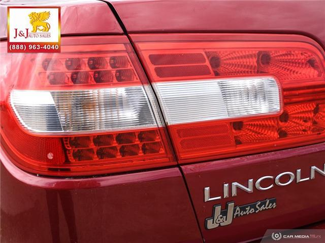 2008 Lincoln MKZ Base (Stk: J19021-1) in Brandon - Image 12 of 27