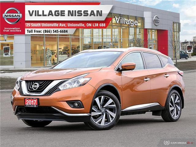 2017 Nissan Murano Platinum (Stk: 80631A) in Unionville - Image 1 of 27