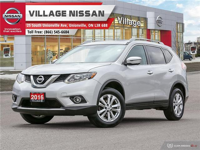 2016 Nissan Rogue SV (Stk: P2789) in Unionville - Image 1 of 27