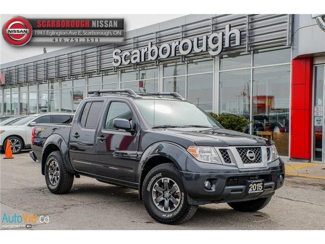 2015 Nissan Frontier PRO-4X (Stk: 419008A) in Scarborough - Image 1 of 27