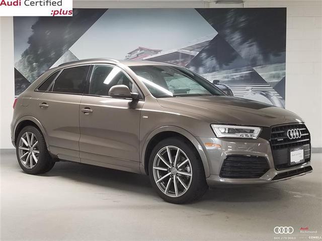 2017 Audi Q3 2.0T Technik (Stk: AURT3459A) in Richmond - Image 1 of 22