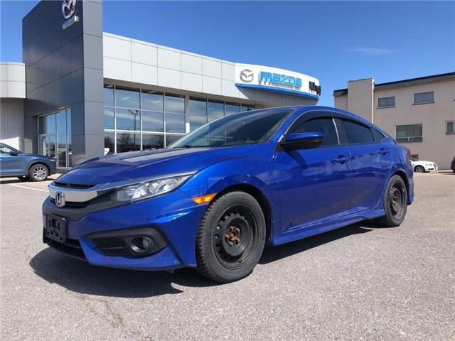 2016 Honda Civic LX (Stk: 19T100A) in Kingston - Image 2 of 12