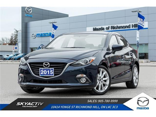 2015 Mazda Mazda3 GT (Stk: 19-297A) in Richmond Hill - Image 1 of 21