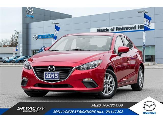 2015 Mazda Mazda3 GS (Stk: P0387) in Richmond Hill - Image 1 of 20