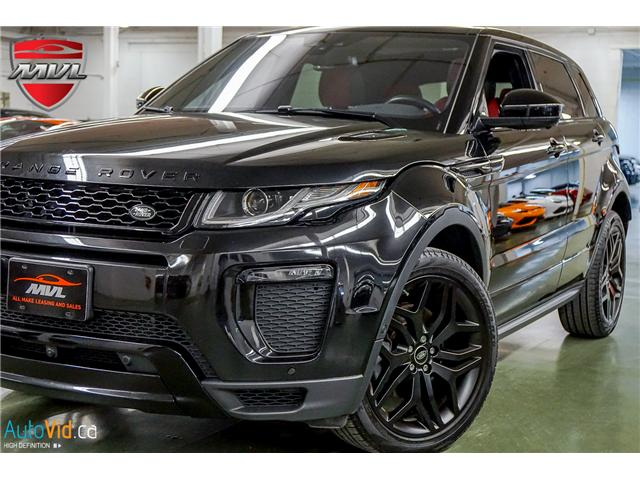 2017 Land Rover Range Rover Evoque HSE DYNAMIC (Stk: ) in Oakville - Image 1 of 33