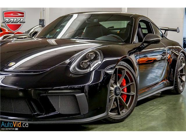 2018 Porsche 911 GT3 WP0AC2A91JS174900  in Oakville