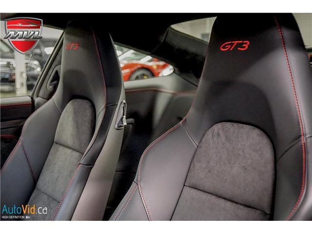 2018 Porsche 911 GT3 (Stk: ) in Oakville - Image 22 of 41