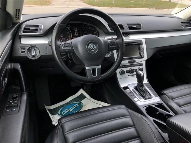 2014 Volkswagen CC Sportline (Stk: WVWBN7) in Belmont - Image 11 of 16
