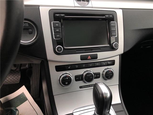 2014 Volkswagen CC Sportline (Stk: WVWBN7) in Belmont - Image 16 of 16