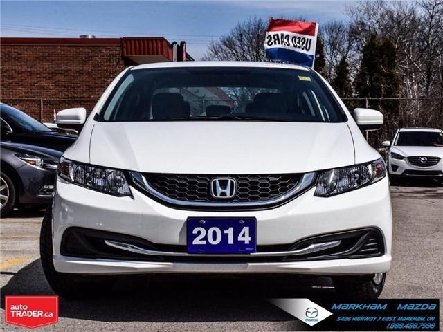 2014 Honda Civic LX (Stk: D180079A) in Markham - Image 2 of 24