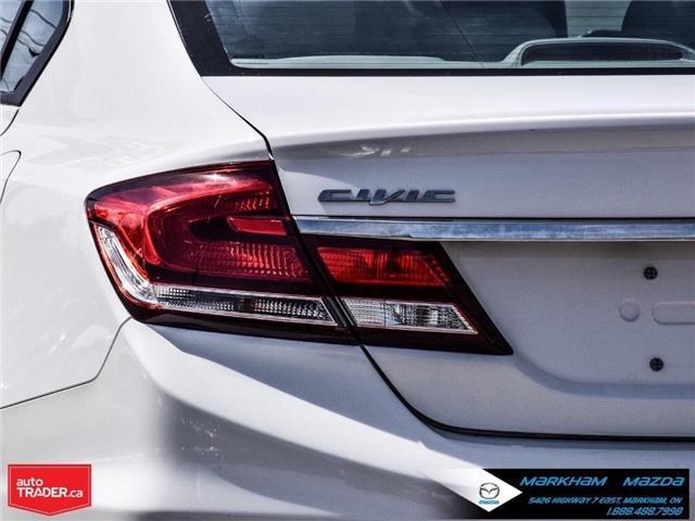 2014 Honda Civic LX (Stk: D180079A) in Markham - Image 5 of 24