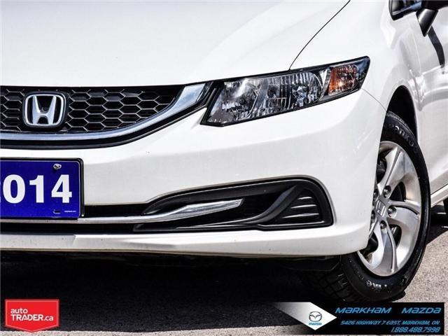 2014 Honda Civic LX (Stk: D180079A) in Markham - Image 8 of 24