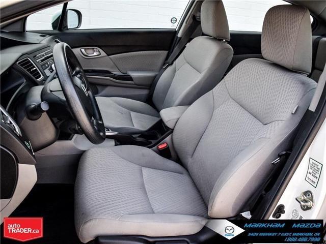 2014 Honda Civic LX (Stk: D180079A) in Markham - Image 11 of 24